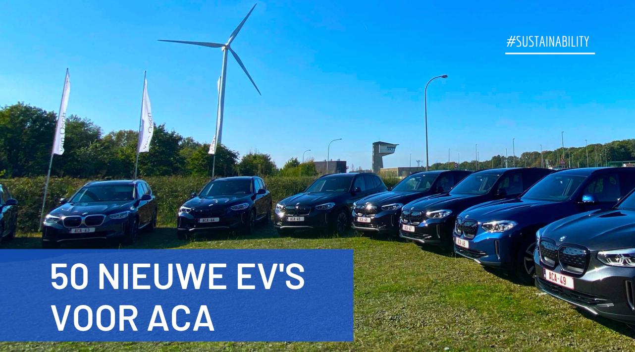 50 nieuwe elektrische voertuigen voor ACA