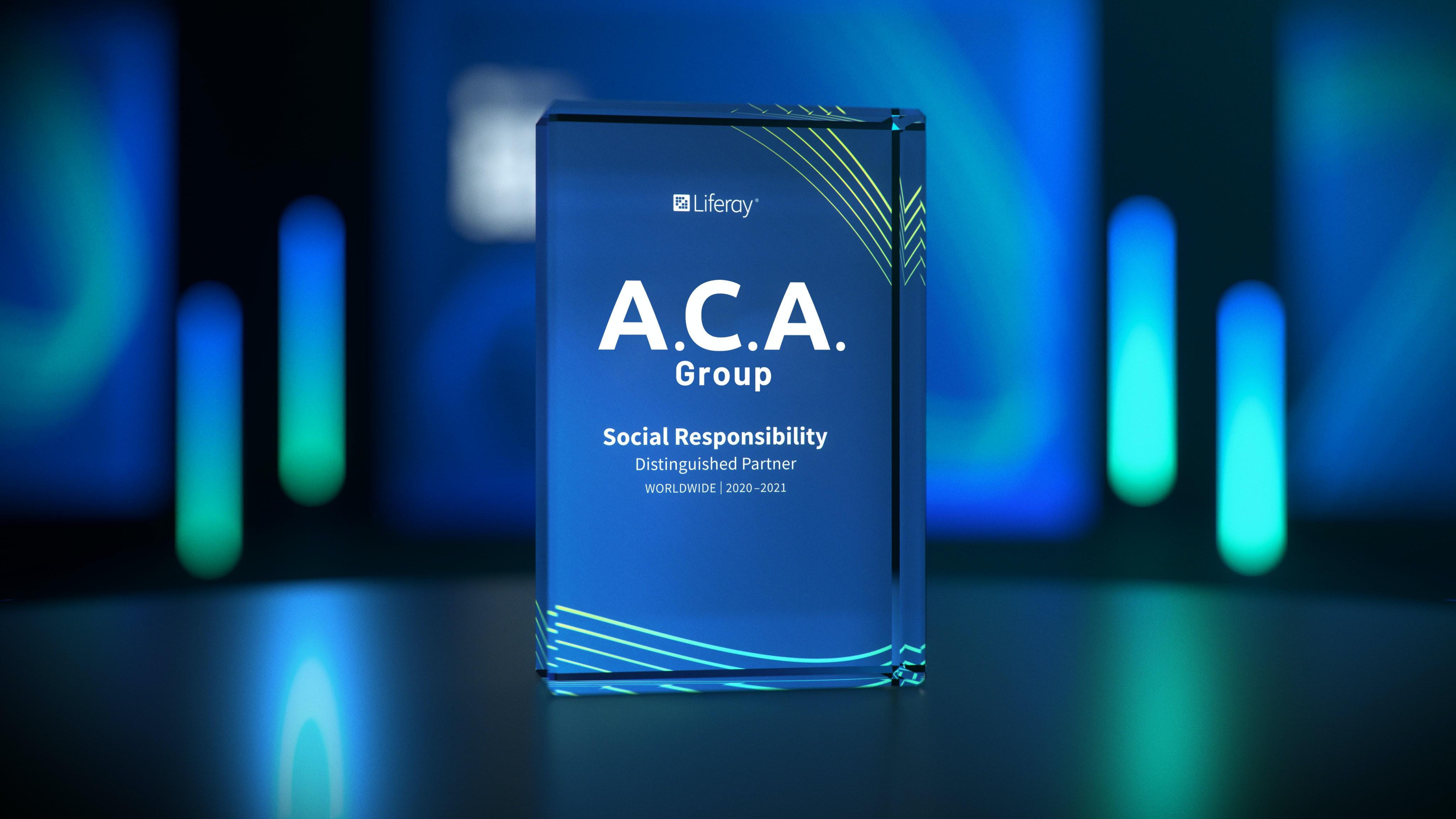 ACA Group Honored with Liferay Partner Award 2021