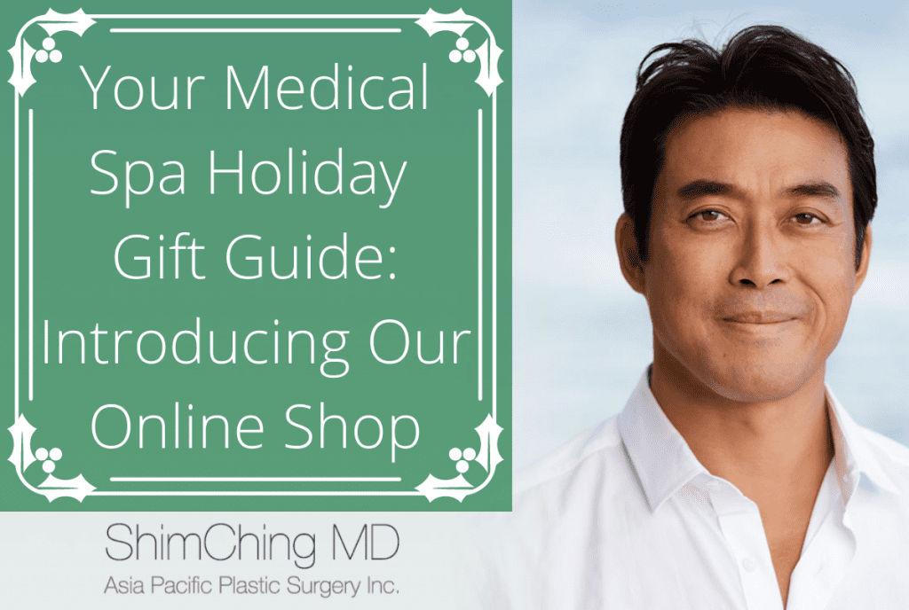 Shim Ching MD Blog | Your Medical Spa Holiday Gift Guide: Introducing Our Online Shop