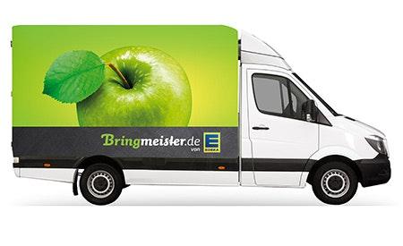 Bringmeister Lieferfahrzeug