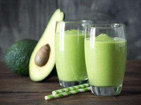 Avocado-Gurken-Smoothie