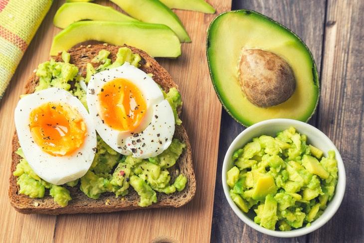 Die leichte Variante: Avocado-Toast