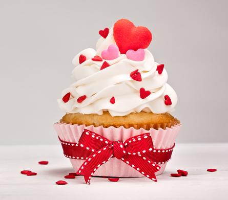 Kuchen mit süßer Botschaft