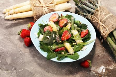 Spargelrezepte für Salate