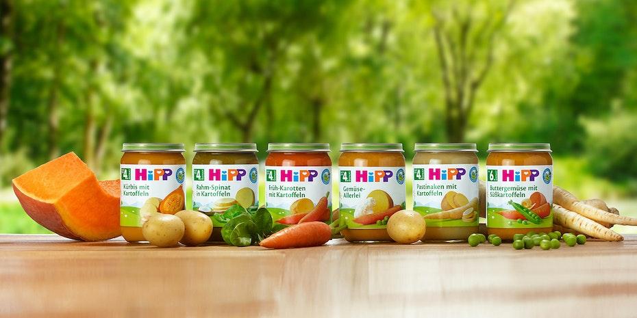 HiPP Sortiment