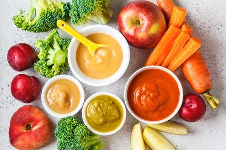 Babybrei selber machen: Öl, Gemüse und weitere Zutaten
