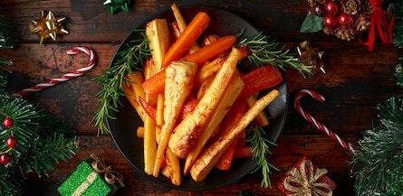 Veganes Weihnachtsessen