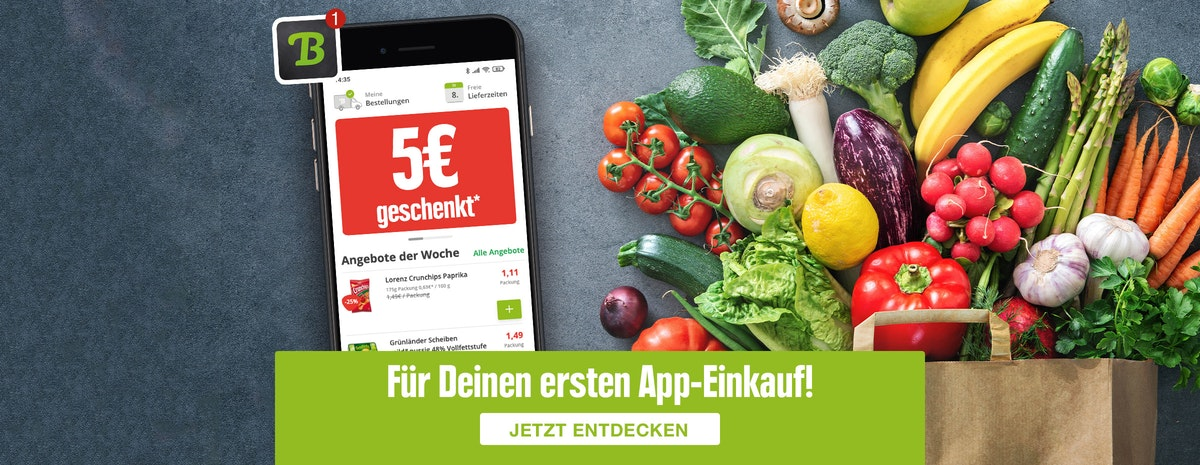 5€ geschenkt in der App