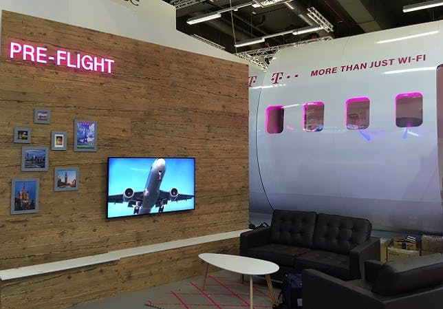 Deutsche Telekom Flies High at AIX!