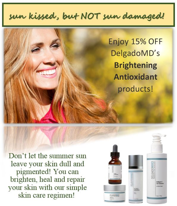 Antioxident products by Miguel Delgado, M.D.