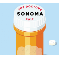 Sonoma County magazine top Plastic Surgeon 2016