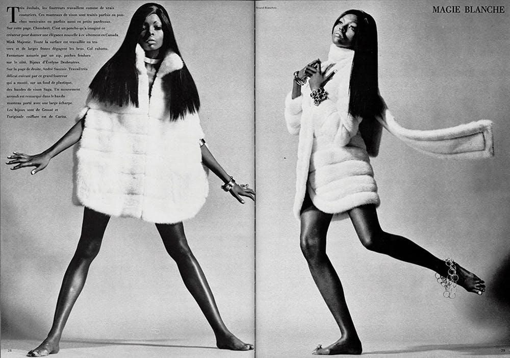 #LOFFICIEL100: Erinnerung an das Vermächtnis des bahnbrechenden schwarzen Models Sandi Col