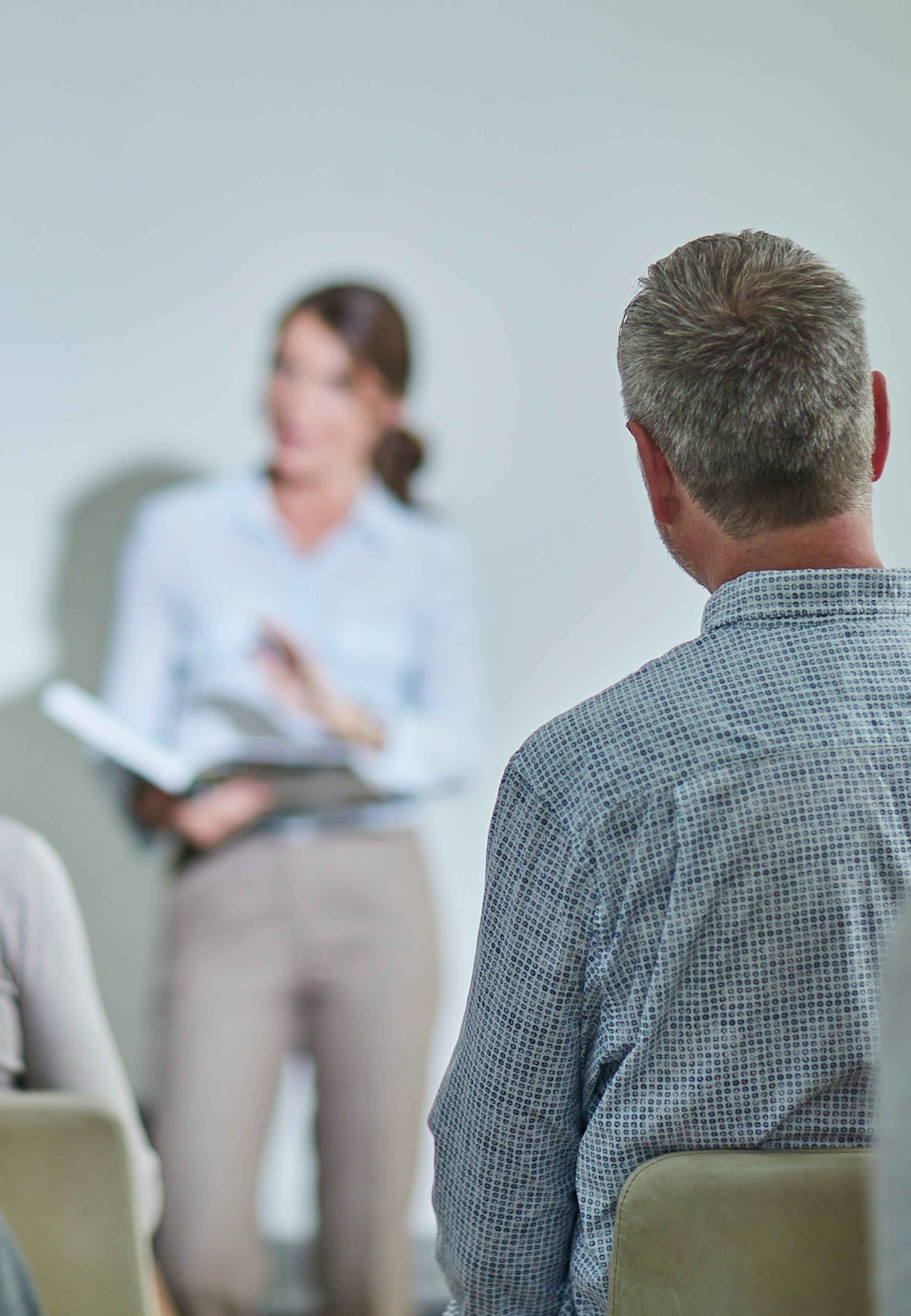 Foredrag i fælleslokale