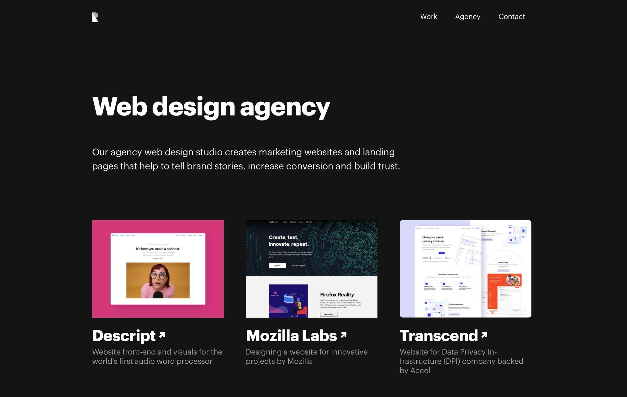 Ramotion web design agency