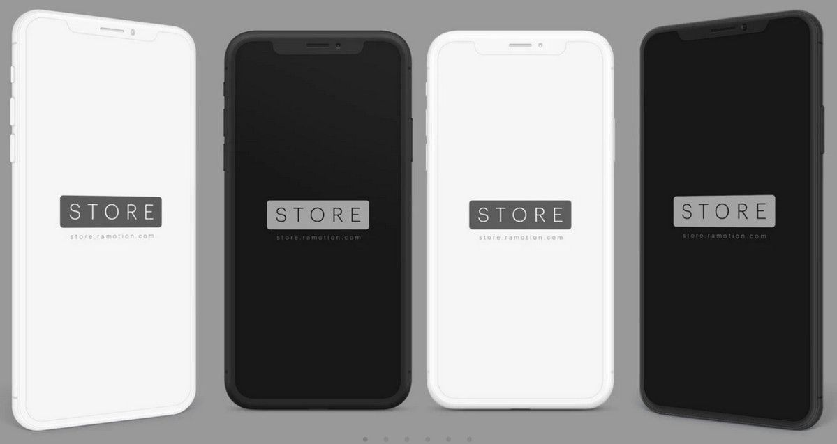 iphone mockup psd