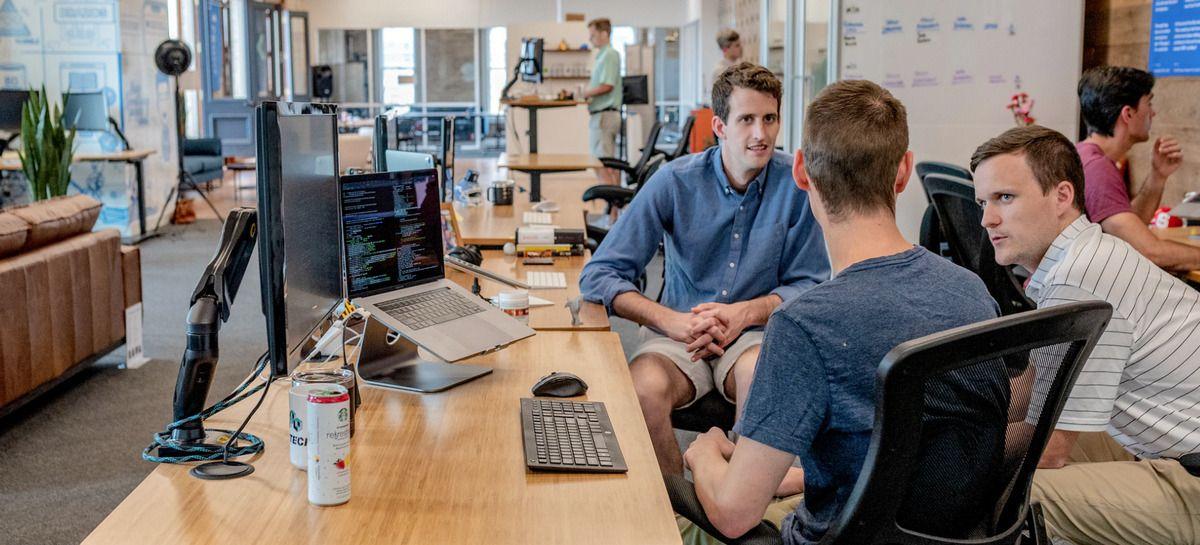 web design team meeting