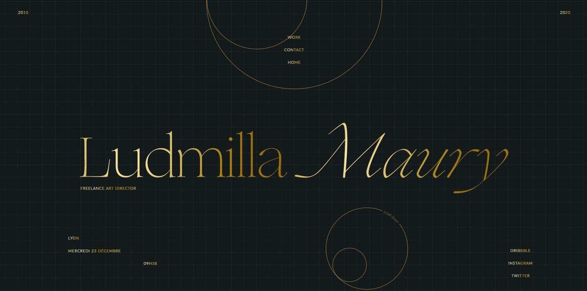 lyudmila maury homepage