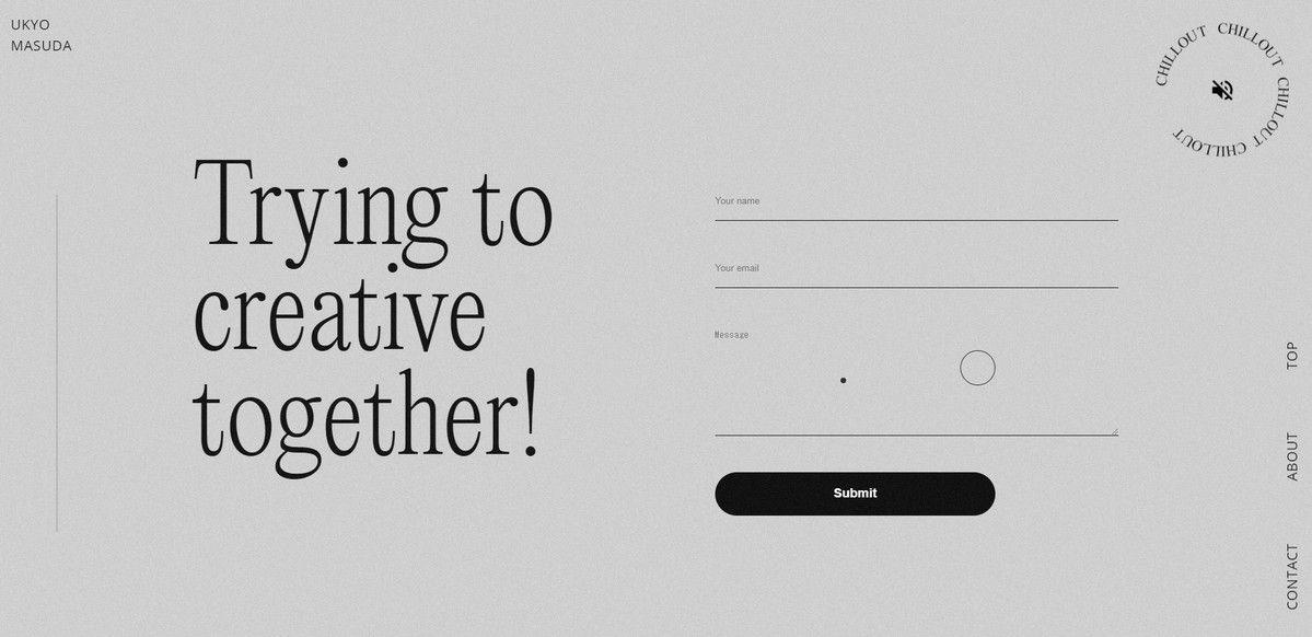 ukyo web design portfolio