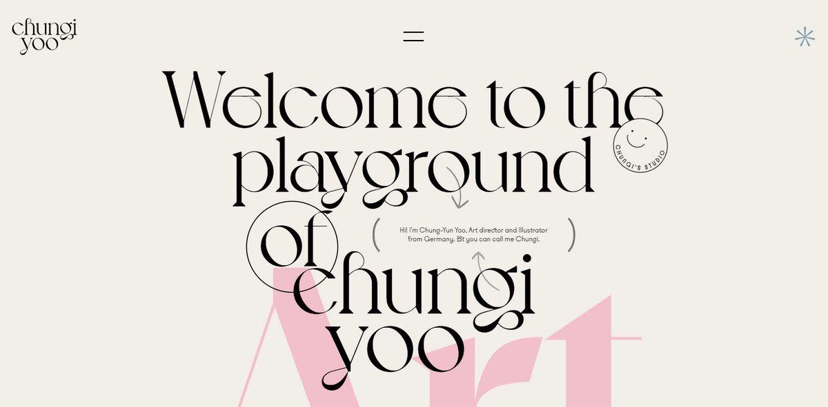chungi yoo personal portofolio