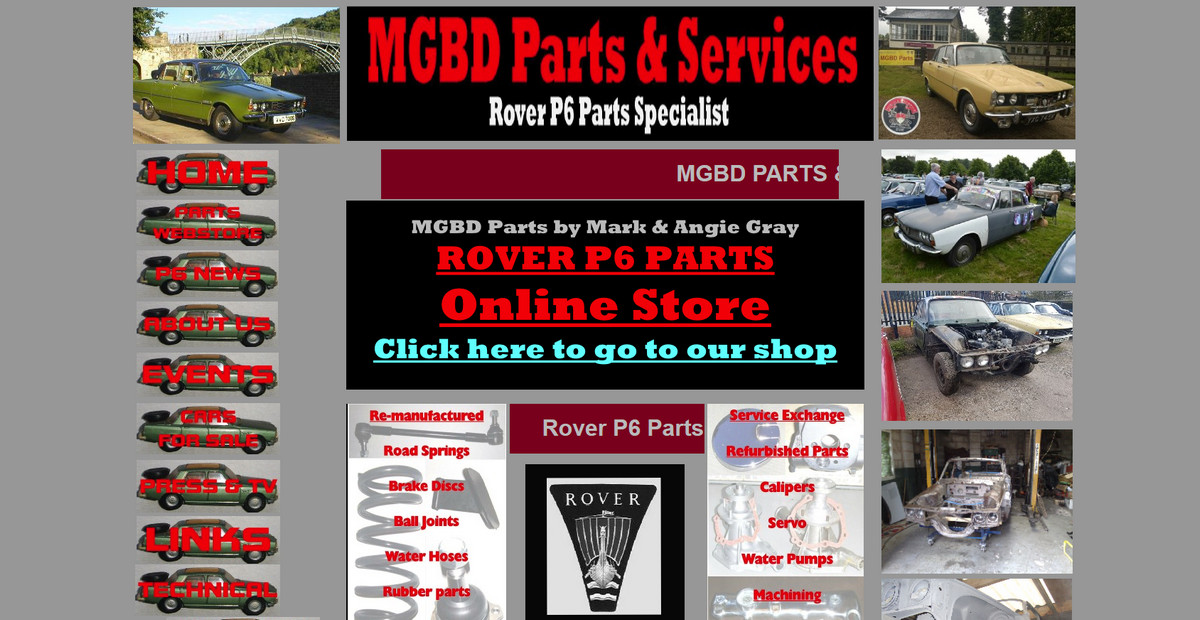 MGBD Parts and Services
