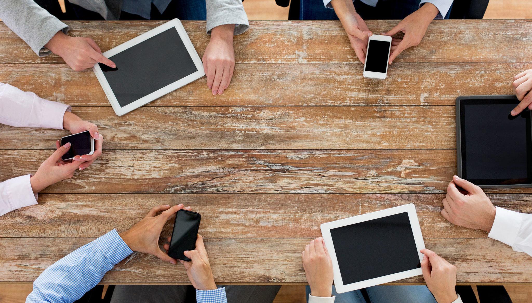 mobile team meeting