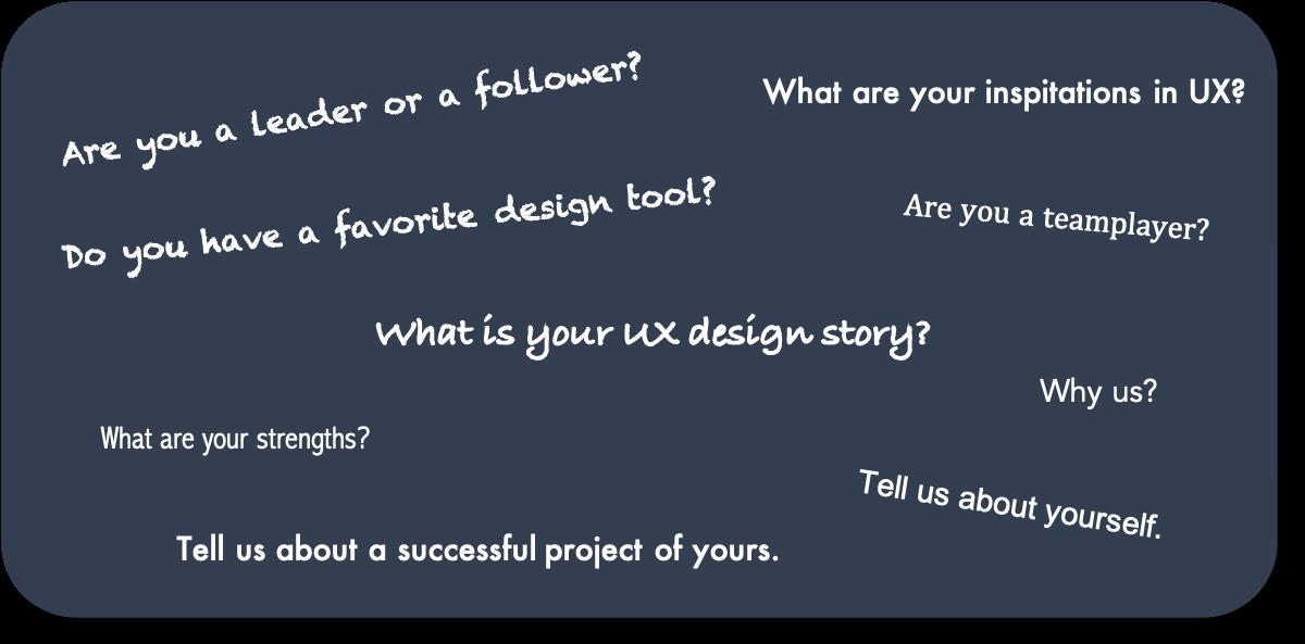UX Design Interview Questions