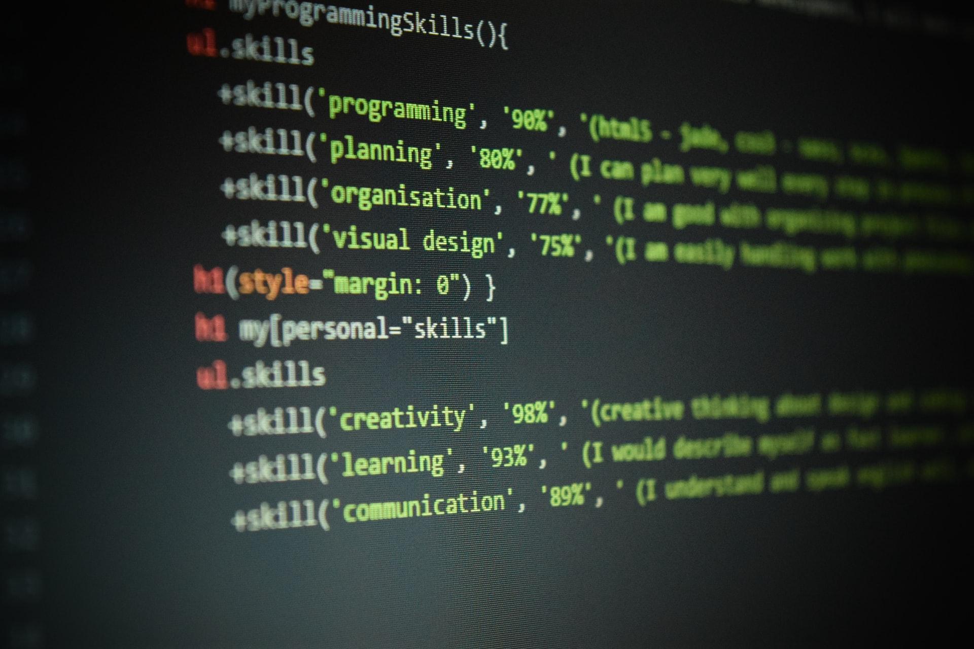 core backend developer skills