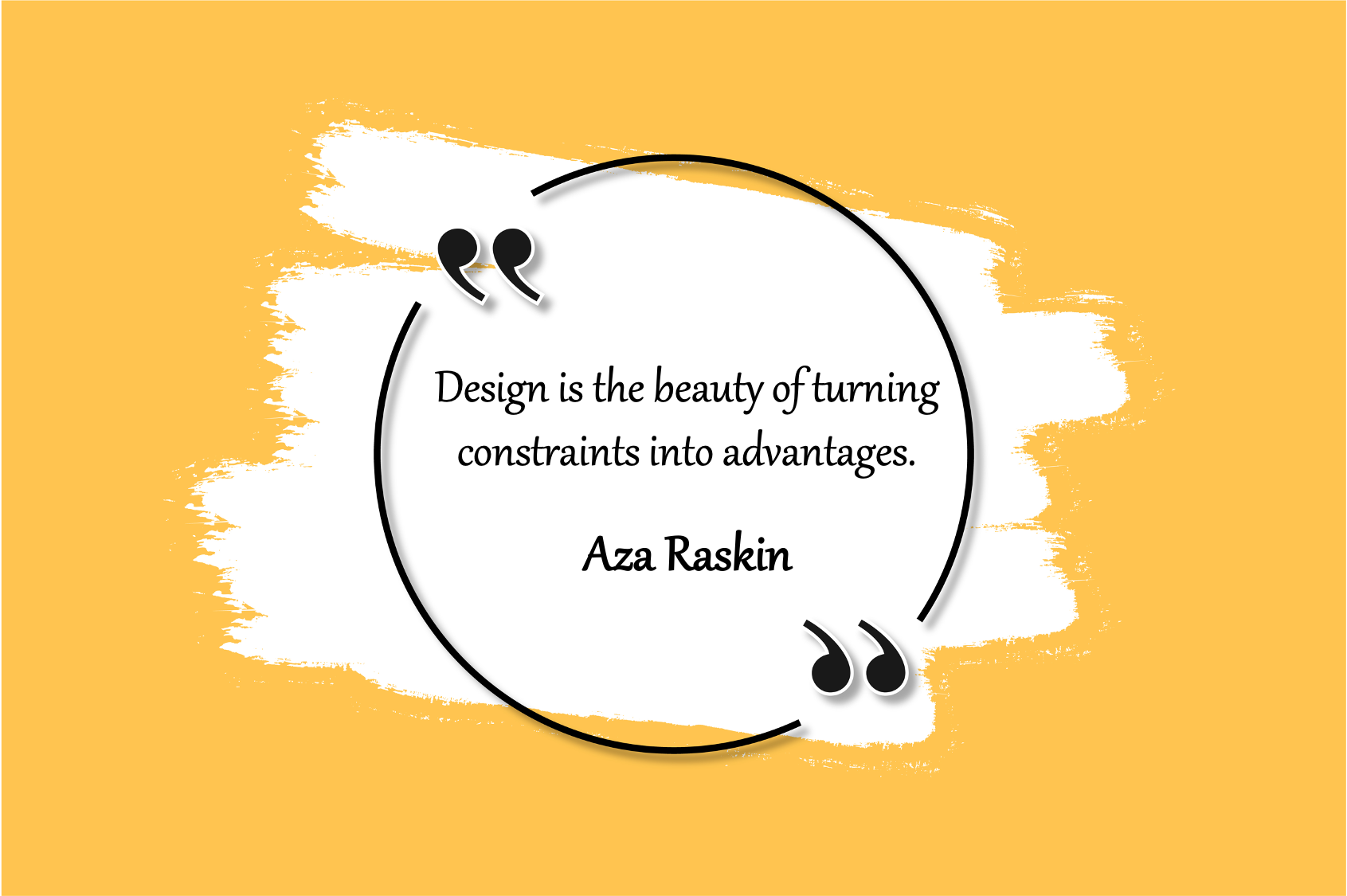 design and constraints