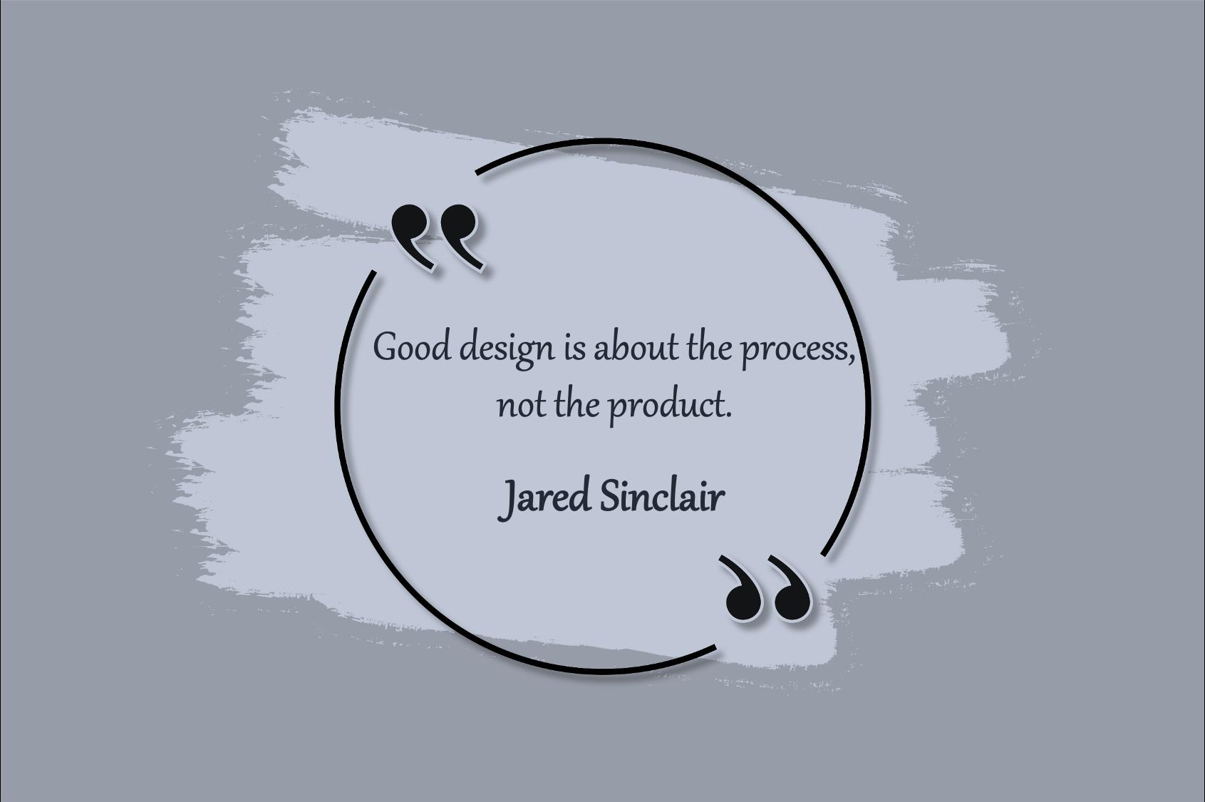 good design process