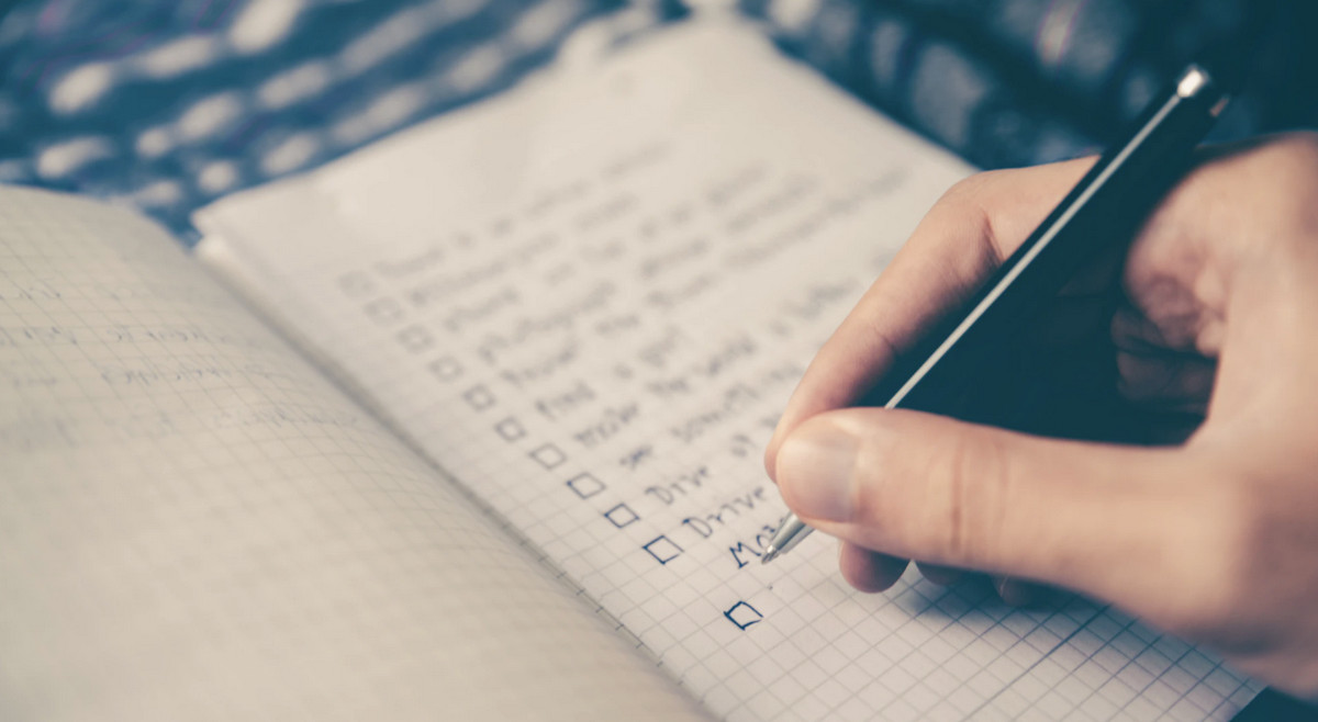list of tasks to be done