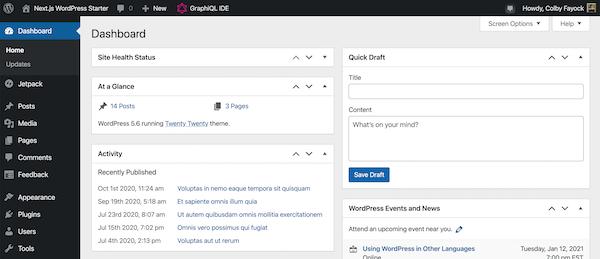 Wordpress Next.js