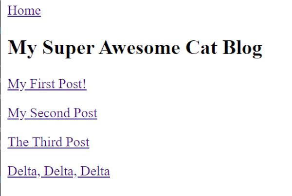 11ty Blog Posts List