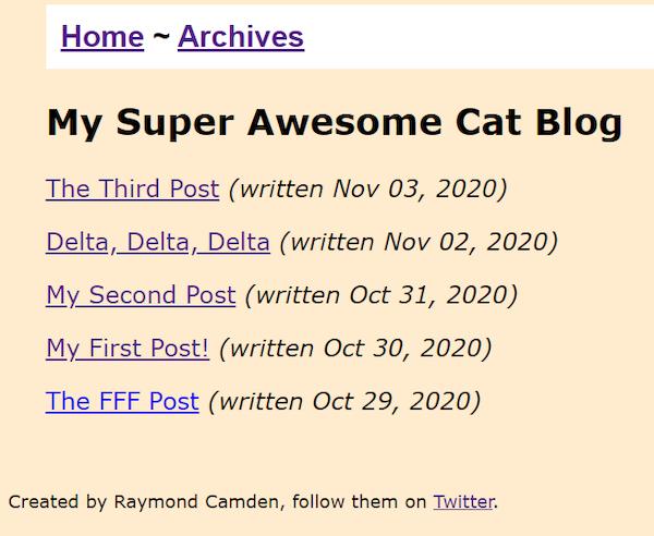 11ty Blog Tutorial