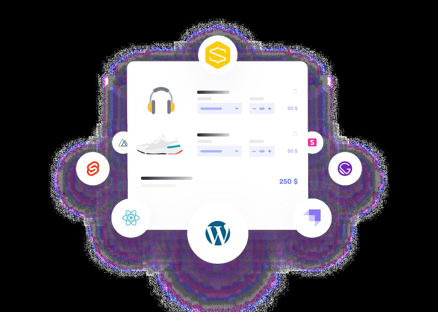 Illustration des integrations de e-commerce