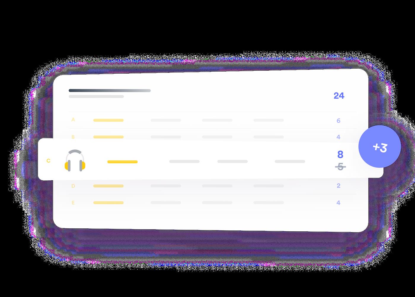 Illustration of e-commerce inventory management