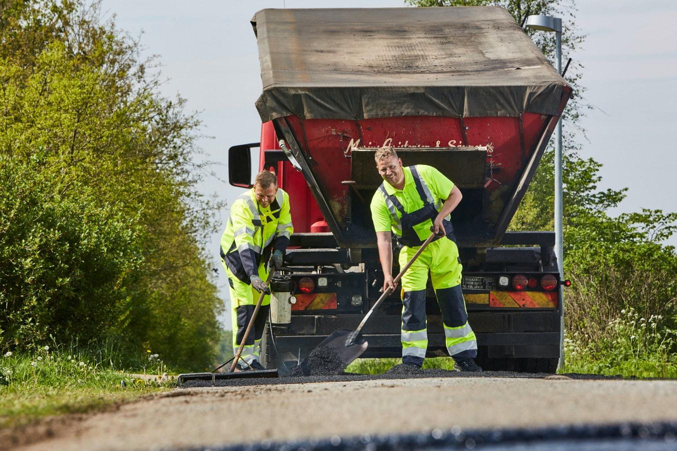 bedrijfskleding wegenbouw