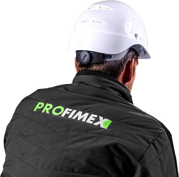 bedrijfskleding logo