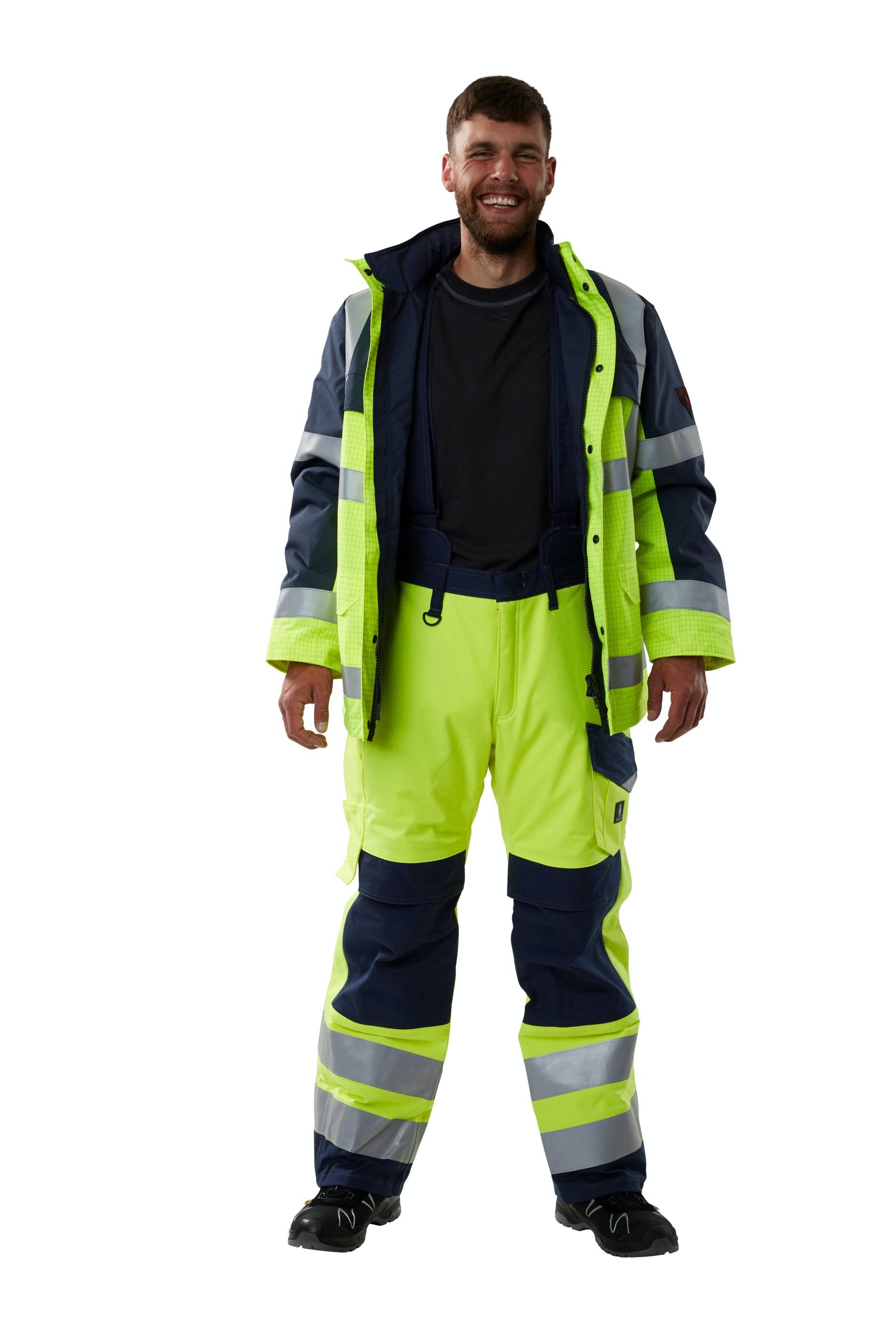 bedrijfskleding wegenbouw bescherming