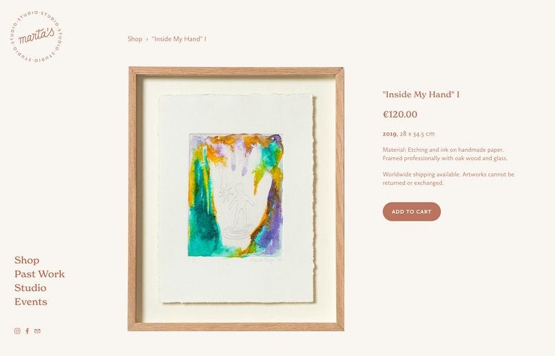 Marta Troya Product Page