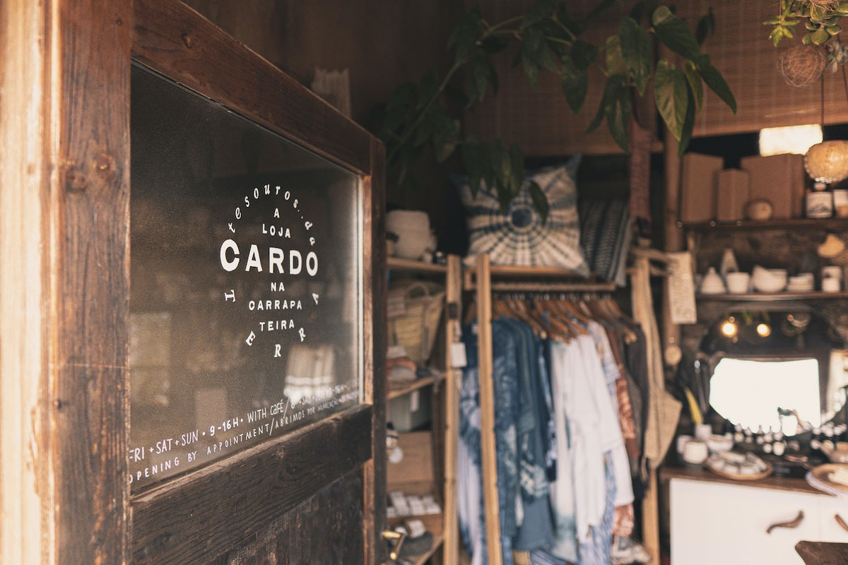 Cardo sustainable shop in Portugal