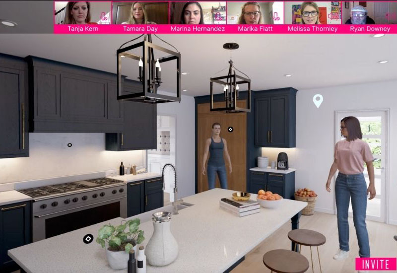 Floor Trends: Influencers Gain First Look at Surreal Virtual Event Platform