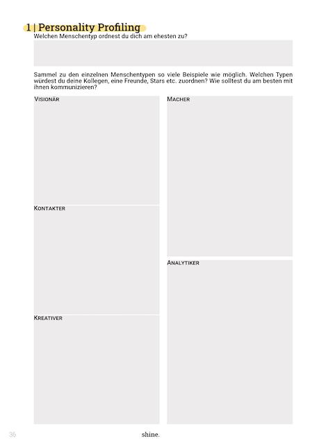 shine.Circle Workbook Beispiel Seite 5