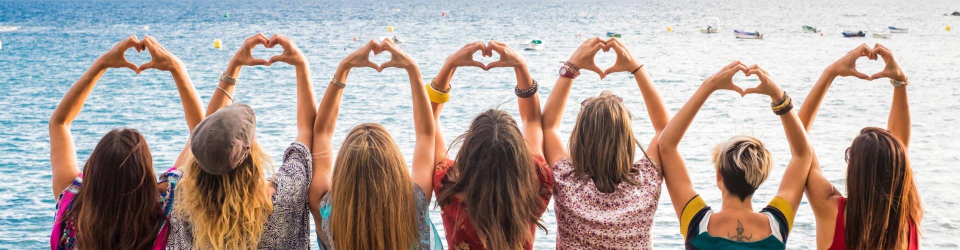 Girls in Italy