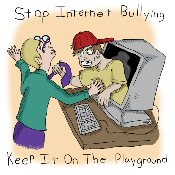 Bullying over facebook doesn't build character in anyone&d