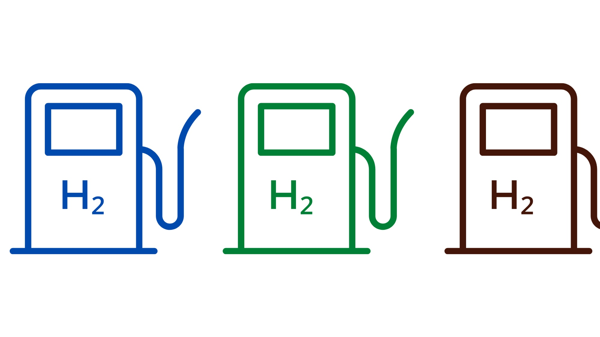 Cover Image for Green, blue, grey or brown? Colours of hydrogen explained