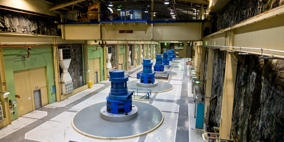 Manapouri Hydroelectric Power Station, New Zealand