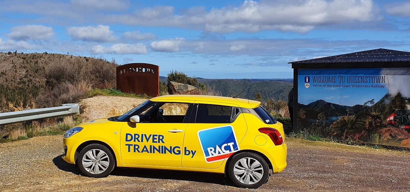 RACT car in Queenstown