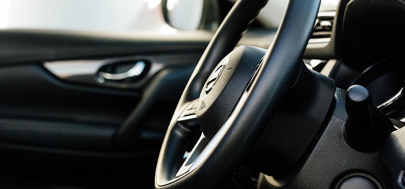 Veichle steering wheel
