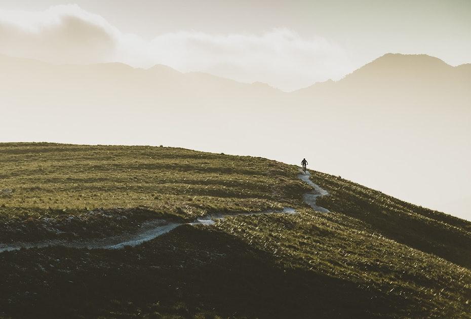 Mountain biking in Zeehan