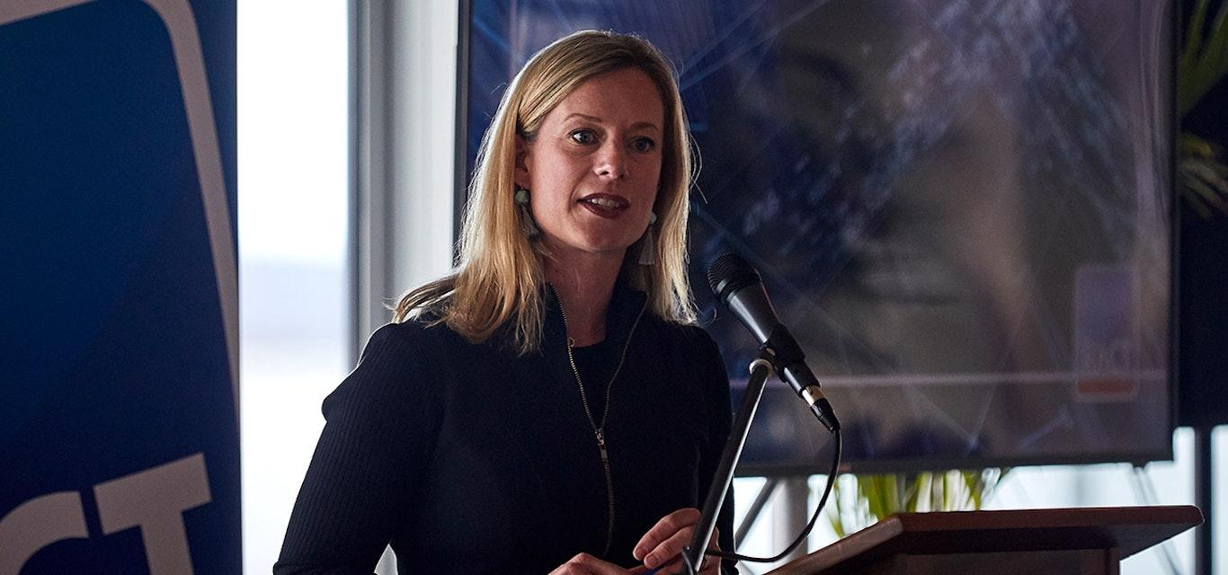 Labor leader Rebecca White